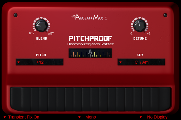 Pitchproof: Pitch Shifter Harmonizer Specs